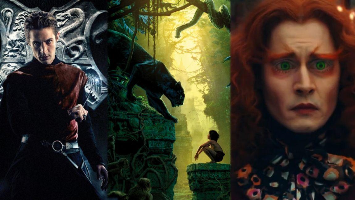 Det blir ofte laget filmer av populære bøker. Her er det en liste som viser når filmene av de populære bøkene kommer: Alice gjennom speilet er en oppfølger av filmen Alice i eventyrland. Filmen kommer på kino 27.mai.