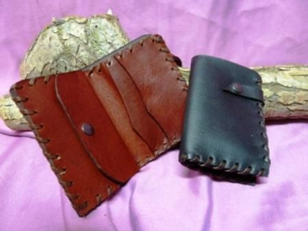 Como hacer carteras de cuero artesanales imagui - Como hacer puff artesanales ...