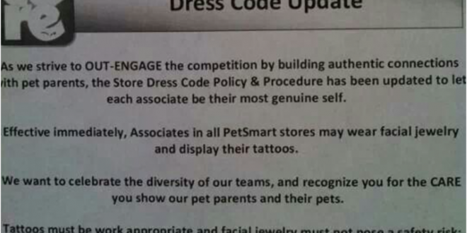 PETSMART TATTOO POLICY A STEP IN THE RIGHT DIRECTION? | Ink Ally