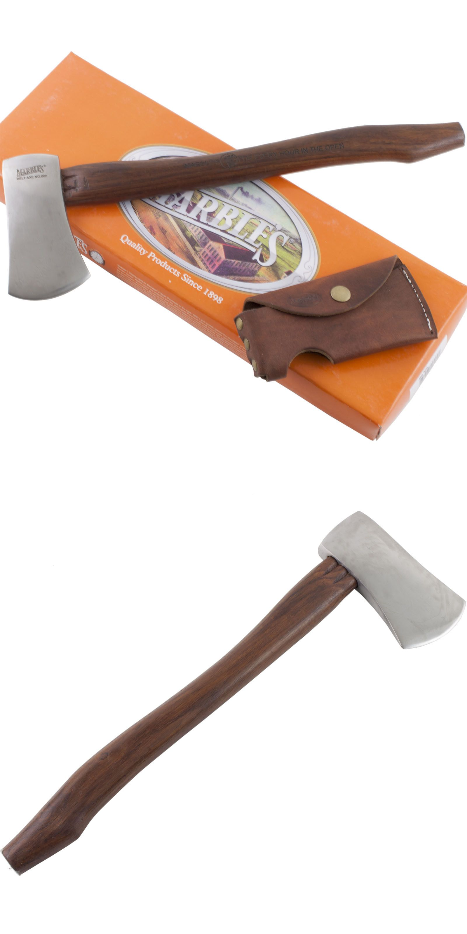 Camping Hatchets And Axes 75234 Marbles 9 Belt 14 5 8 Axe Hatchet Hardwood Handle Mr9 Camping Hunting Sheath Camping Hatchet Hatchet Camping Uk
