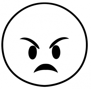 emoji angry coloring page birthday party pinterest emoji