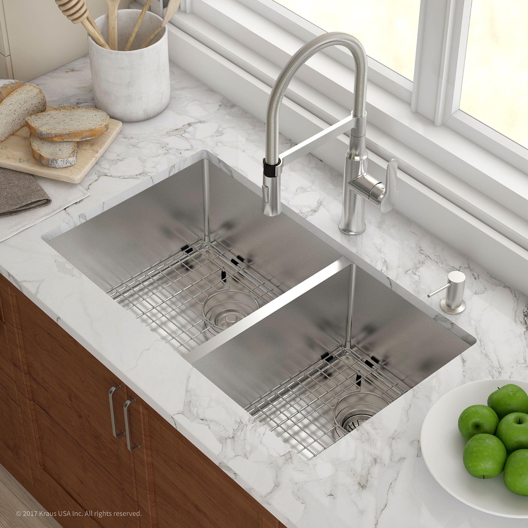 Image Result For Undermount Double Sink For 33 Inch Cabinet Pias De Cozinha Granito Para Cozinha Layout De Cozinha