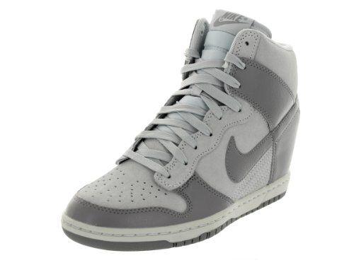 separation shoes 8d54a cb7df Nike Dunk Sky Hi Women s Sneakers (6.5, Canyon Grey Canyon Grey) Nike
