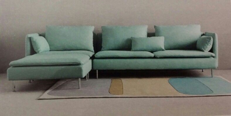 Ikea Soderhamn three-seat sofa with chaise $999 - I want ...