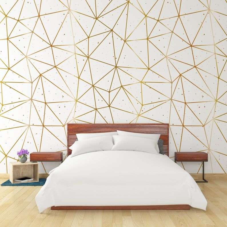 Wallpaper Gold Orchid 173 Wallpaper Classic Wallpaper Etsy Room Wallpaper Designs Pink And Grey Wallpaper Removable Wallpaper