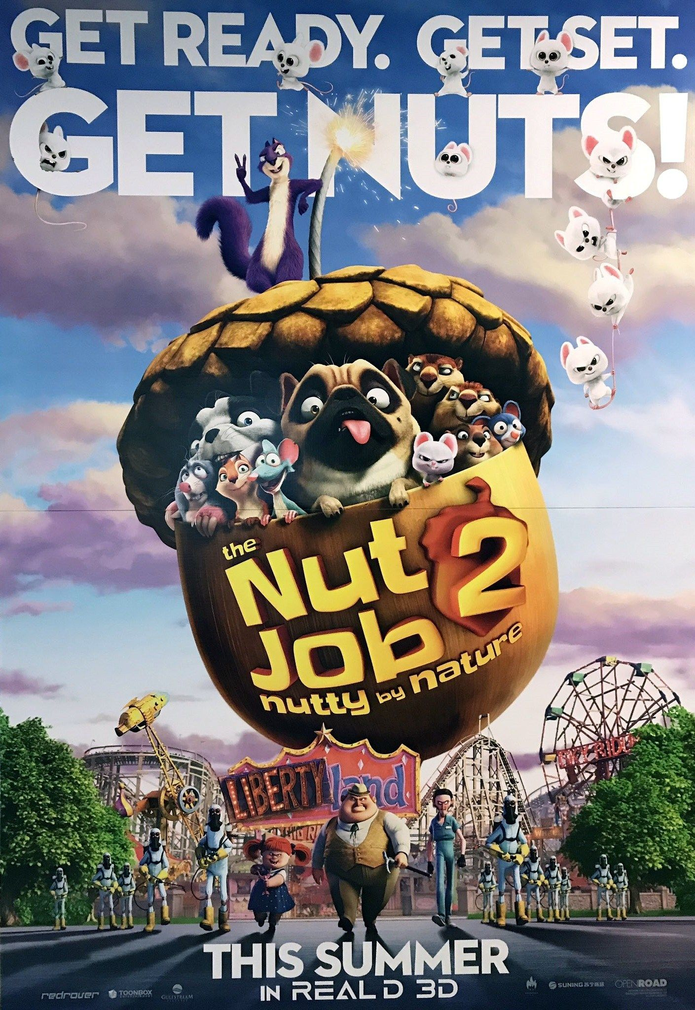 Streams@hd] watch & download the nut job 2: nutty by nature (2017.