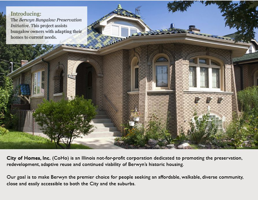 Berwyn Bungalow Preservation Initiative Assists Owners With Adapting Their Homes To Current Needs