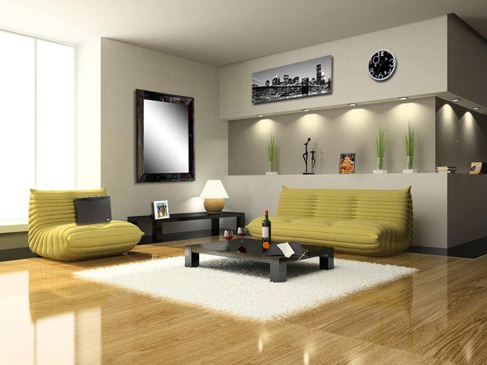 Décoration d\'un salon très tendance, style urbain, à la New ...