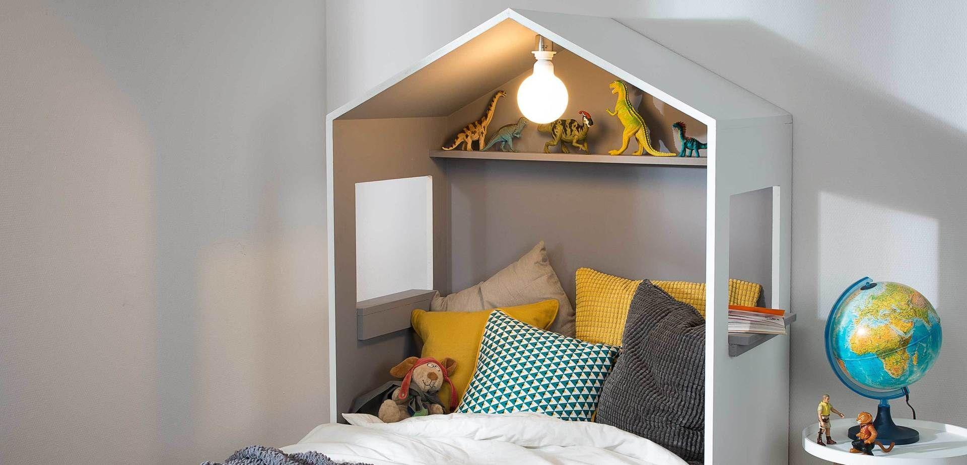 Construistez une tte de lit en forme