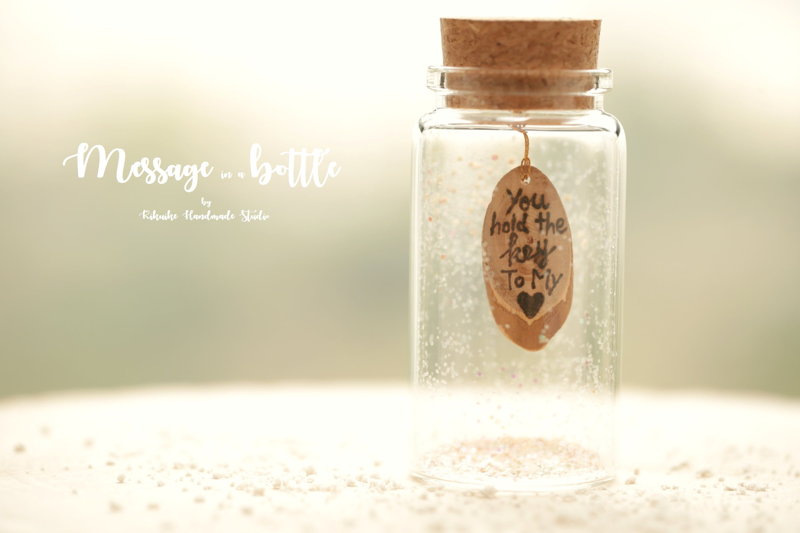 Hand Craved Wood Message You Own My Heart Now Tiny Message In A