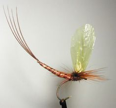 Fly Tying Nation: Extended Abdomen Reel Wings Mayfly