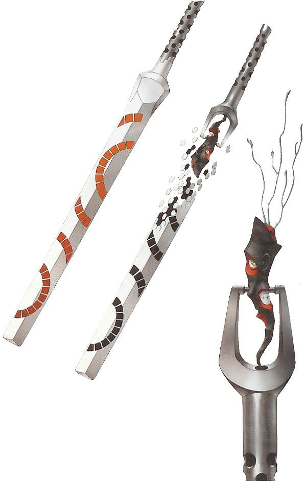 Maken, the demonic sword from Maken X