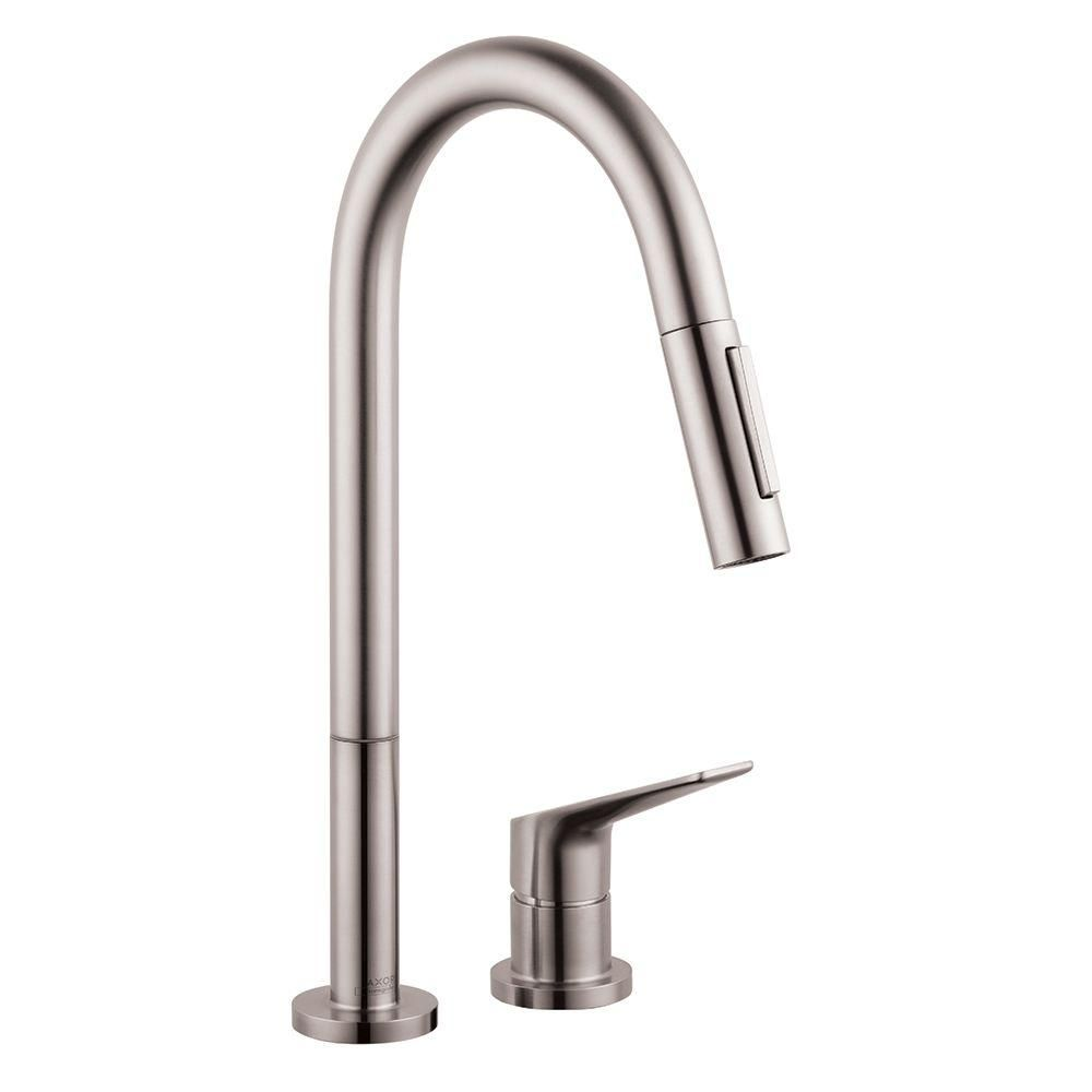 Hansgrohe Axor Citterio M Single-Handle Pull-Down Sprayer Kitchen ...