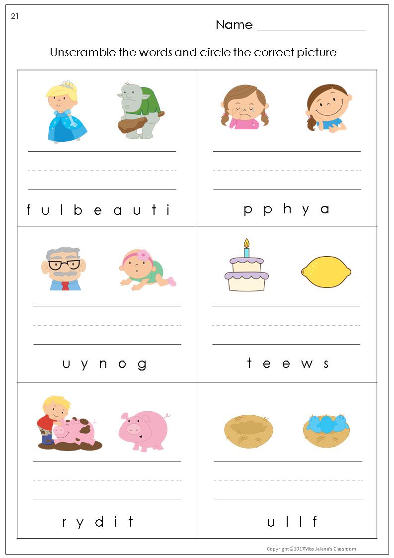 Free Sample Opposites Worksheets Opposites Worksheet First Grade Freebies English Worksheets For Kids [ 1122 x 793 Pixel ]