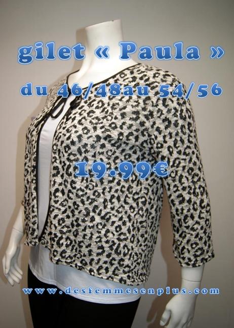 gilet manches longues en tricot fermé par un lacet disponible du 46/48 au 54/56 77% coton 33% polyester FABRICATION FRANÇAISE