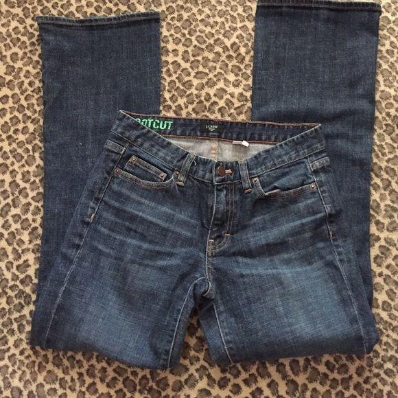 J.Crew Bootcut  jeans Excellent condition dark stretch Jean J. Crew Jeans Boot Cut