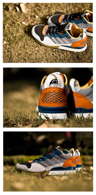 Adidas originali blu zxz 930: gesso / ritmo giallo / alluminio si