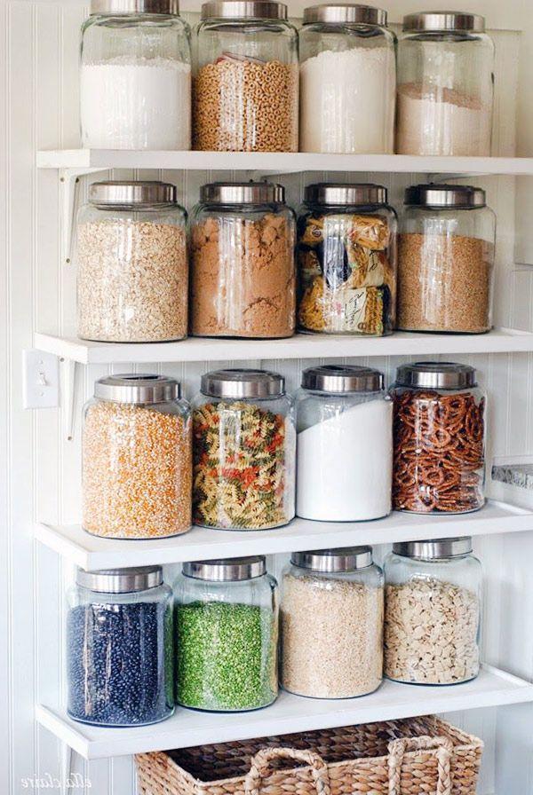 Kitchen Glass Jar Design Idea Mason Jar Kitchen Decor Mason Jar Kitchen Diy Kitchen Decor