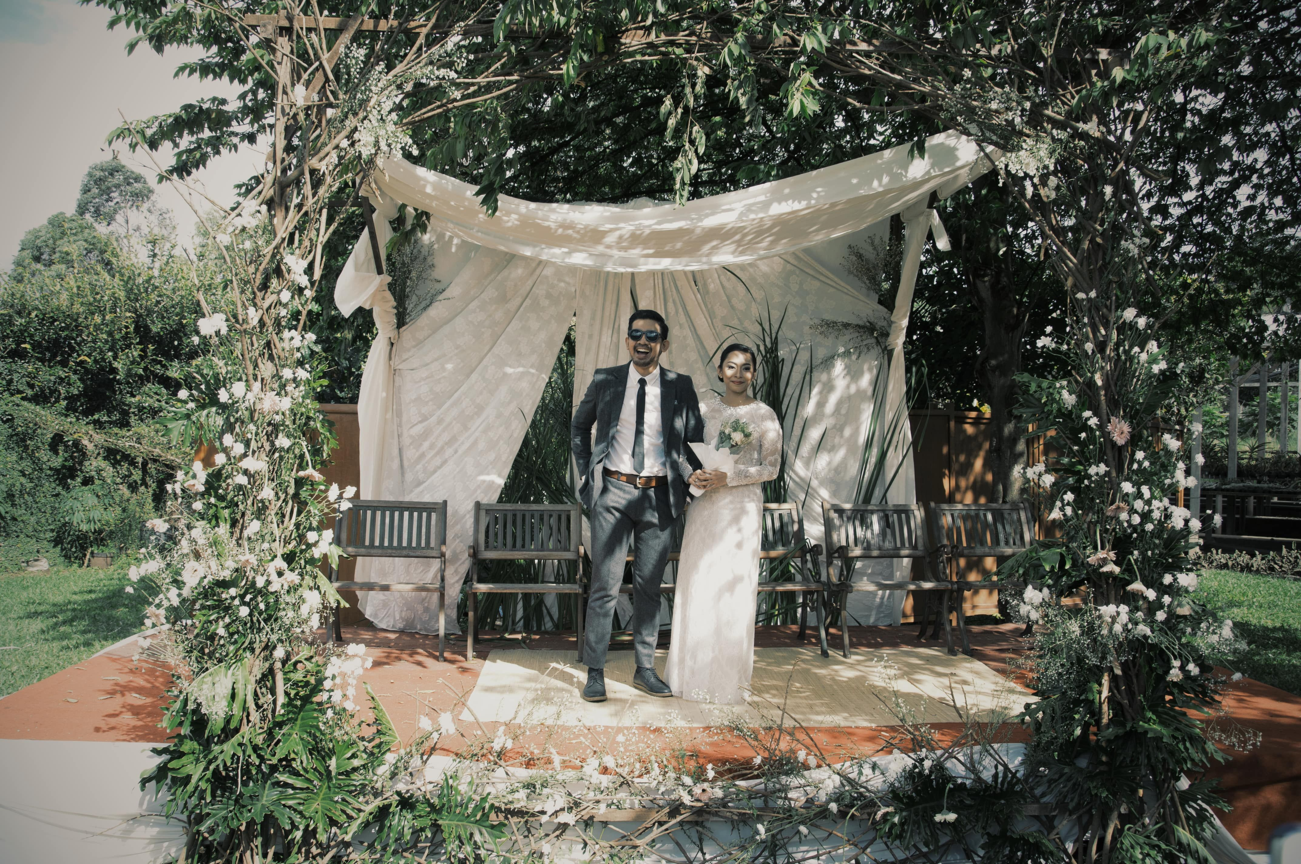 Garden Party At Rumah Bunga Rizal The Bride Dept Pernikahan Dekorasi Pernikahan Dekorasi Pernikahan Klasik