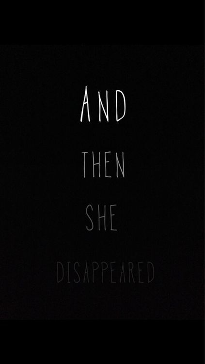 n o v s is part of Disappear quotes -