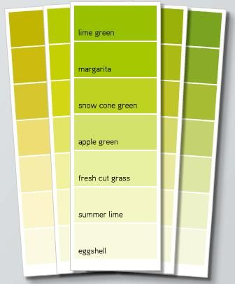 my accent color is green what should i paint my walls - Google ...