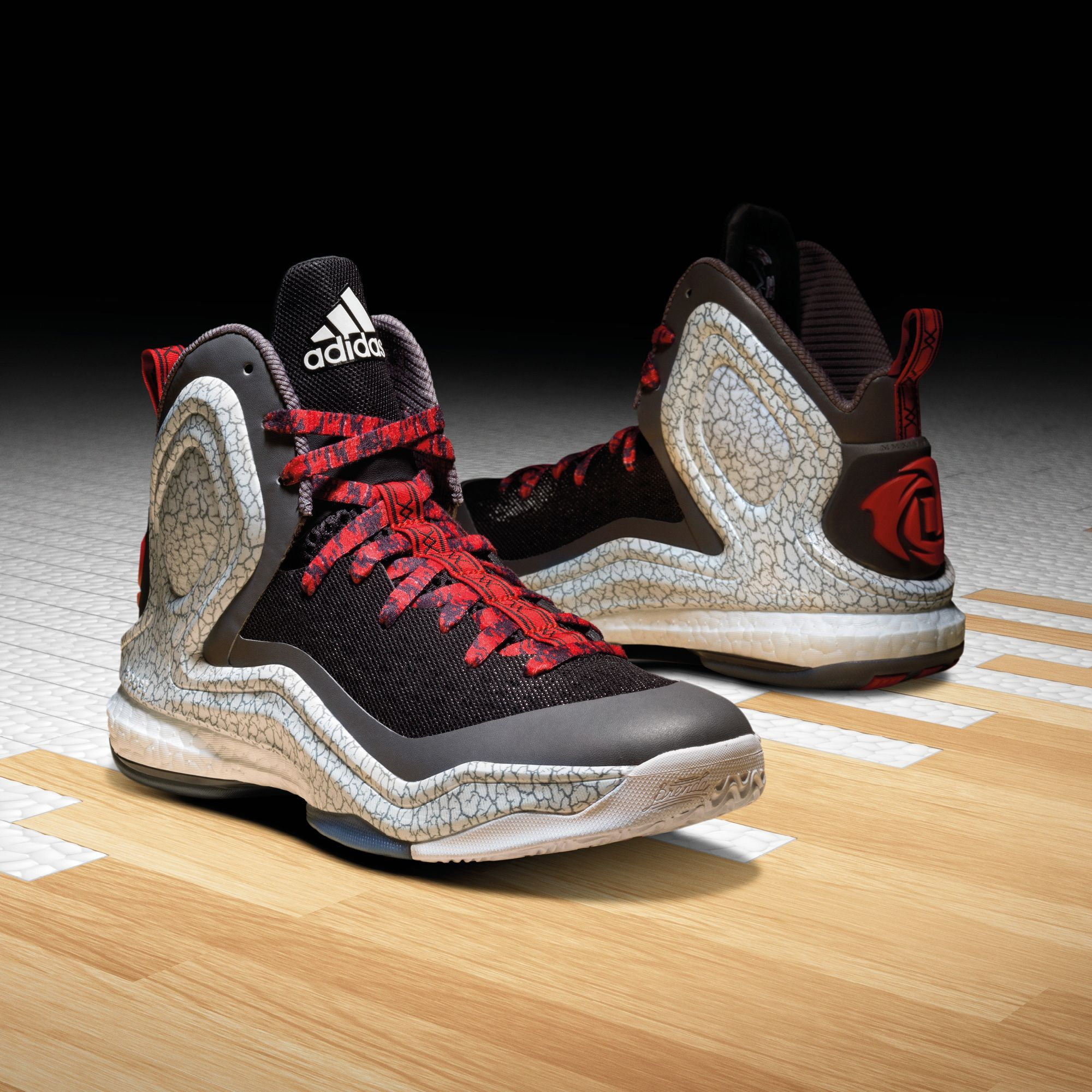 2adidas d rose 5 boost chicago ice
