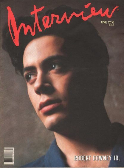 Interview (By Andy Warhol) April 1989