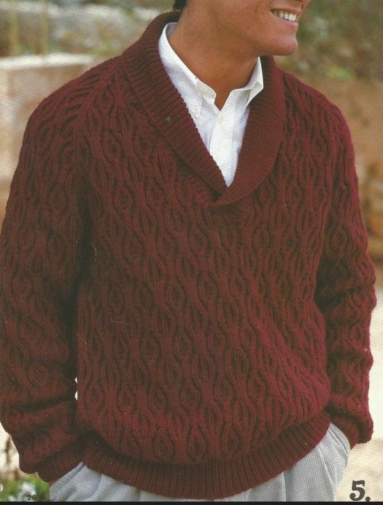 GORGEOUS CABLED ARAN FOOTHILL ROAD SWEATER to KNIT by JANET SZABO