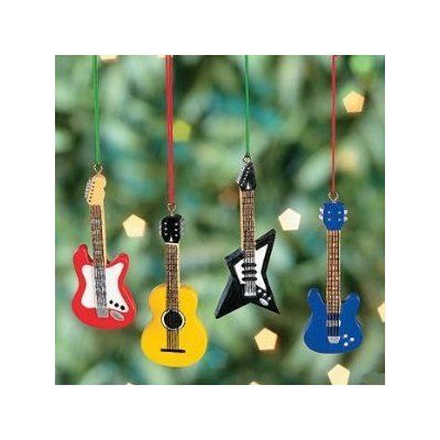 Amazon Com 12 Mini 3 Guitar Christmas Ornaments Bass Acoustic Electric Fender Replic Christmas Tree Decorations Christmas Ornaments Christmas Tree Ornaments