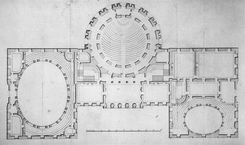 Legislative Chamber Design by Stephen Hallet Americas Historic