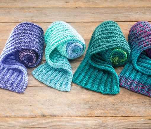2c1768c42d9 This Candy Shop Yarn looks amazing! Must have. - Candy Shop Ribbed Scarf  Pattern by Craft Warehouse