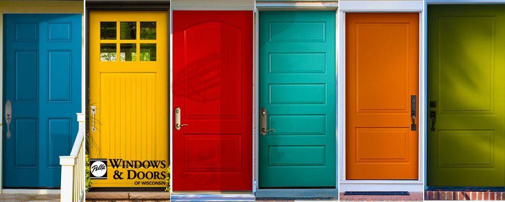 Show Your True Colors With A Vibrant Pella Front Door Home