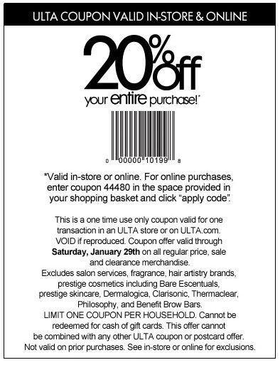Sephora Coupons 2014 In Store I Have Coupon Coupons Burlington Coat Factory Sephora