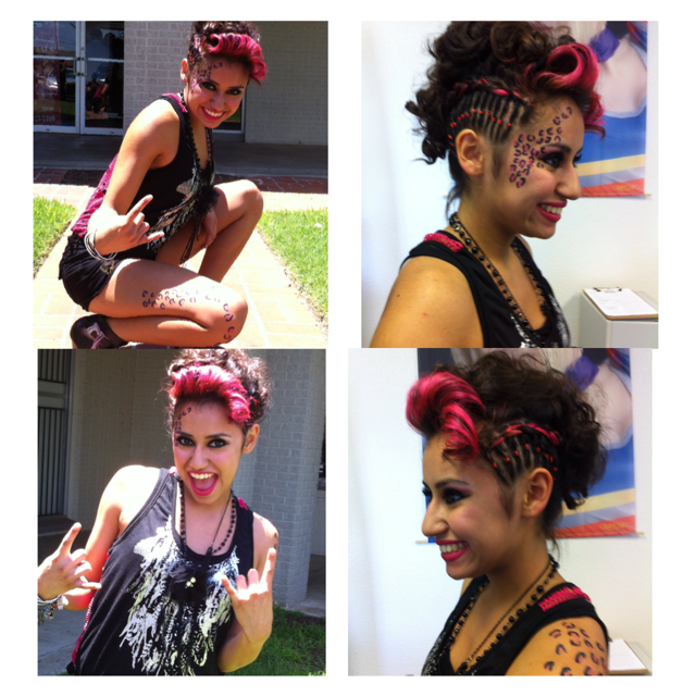Winner of our ROCKSTAR STYLE contest goes to student
