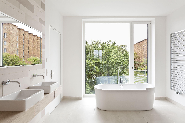 bathroom at Hafenquartier, Berlin, with #TerraMaestricht and ...