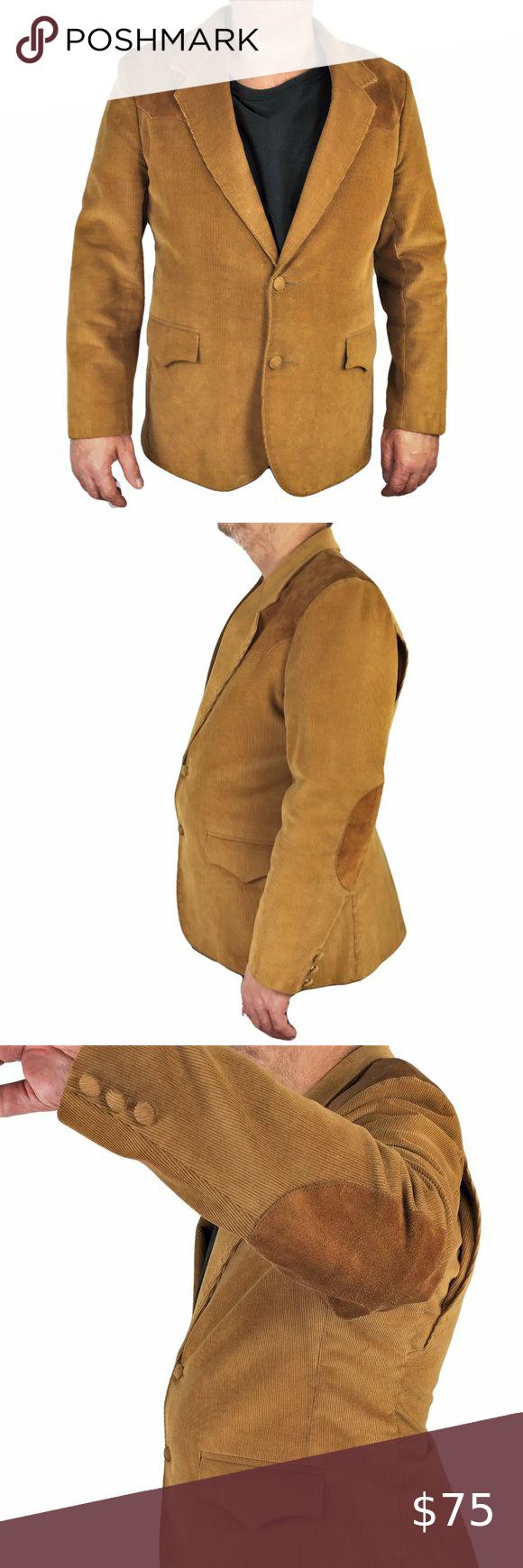 VTG PioneerWear Men 46 Corduroy Western Sport Coat in 2020
