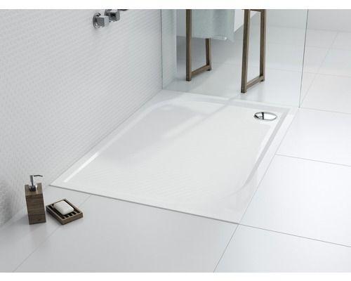 Extraflache Duschwanne Cadiz 120x90x3 Cm Weiss Kleine Badezimmer