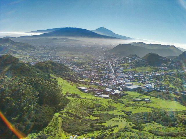 Parque Rural De Anaga Mirador De Jardina Monte De Las Mercedes Tenerife Canary Island Spain