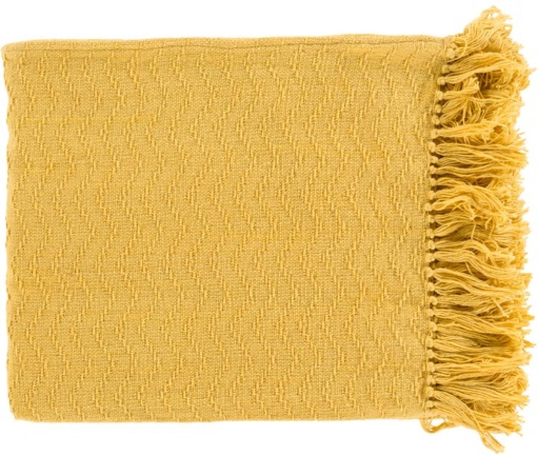 Home Yellow Throw Blanket Yellow Bedding Yellow Throw