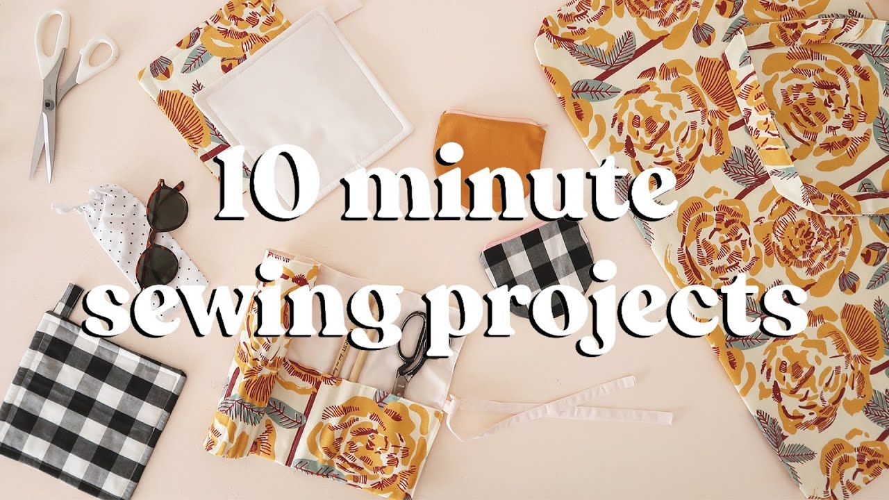 Sewing Projects To Make In Under 10 Minutes | part 5 - YouTube
