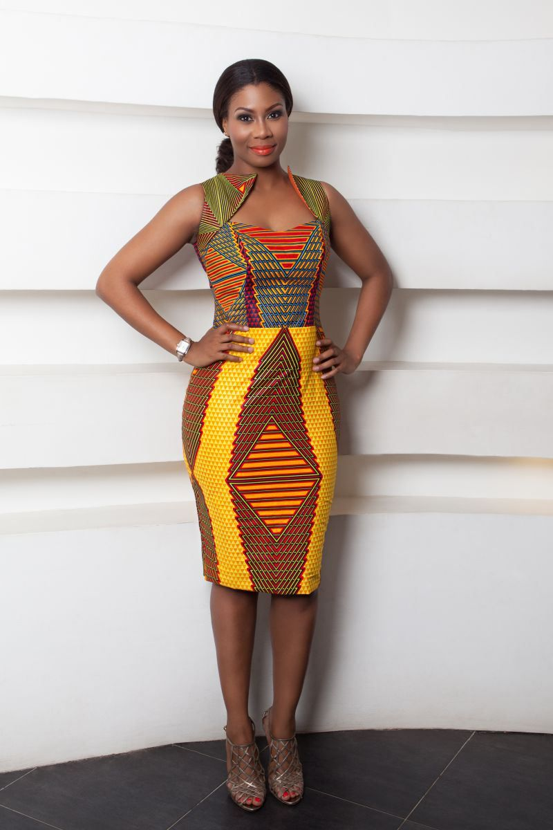 Plus size african wedding dresses  Fashion designers innovation with African Prints  Stella Jean
