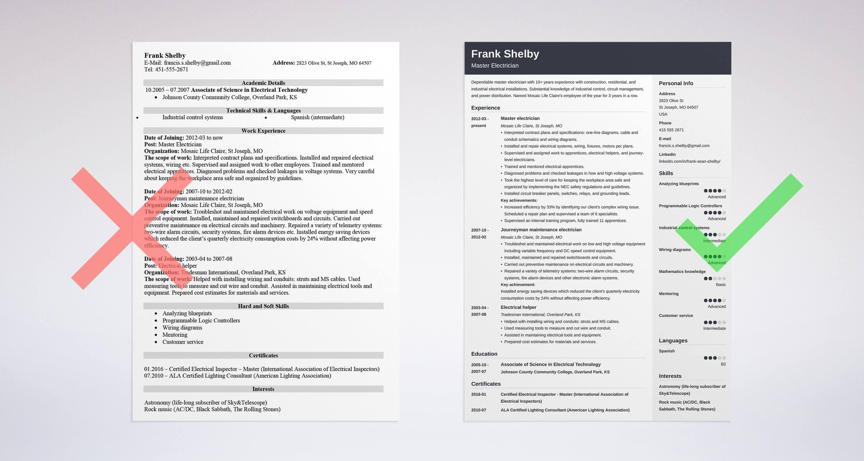 examples of action words on a resume Project manager