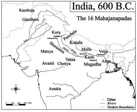 Image result for mahajanapada 600 bce