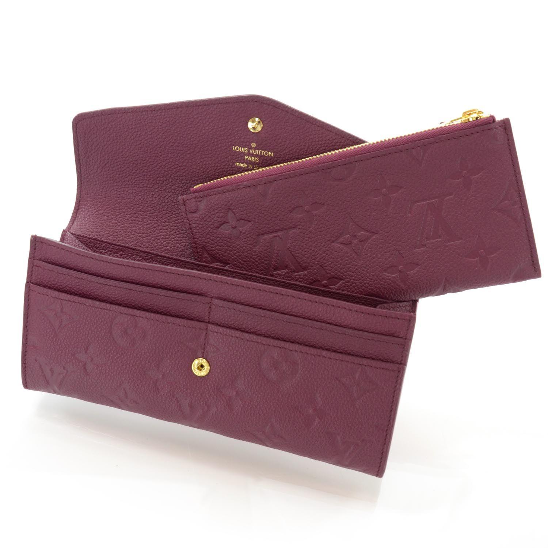 c0355c981164 LOUIS VUITTON Monogram Empreinte Curieuse Wallet Aurore