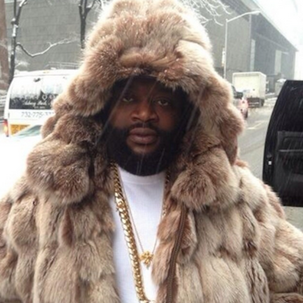 rick-ross-in-a-fur-coat.png (600×600) | Fur on dark skin | Pinterest