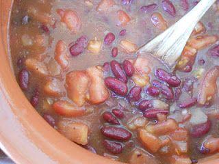zuppa di fagioli vellutina