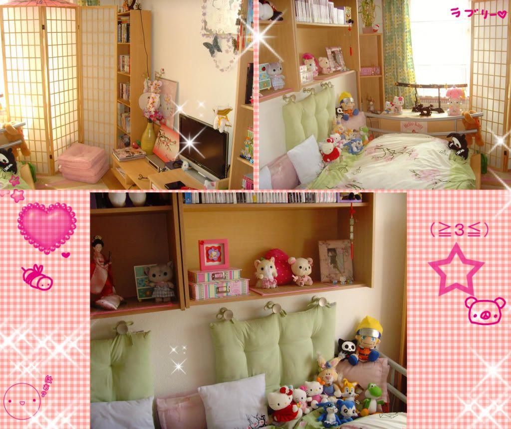 Kawaii Room | Room decor/ storage ideas | Pinterest