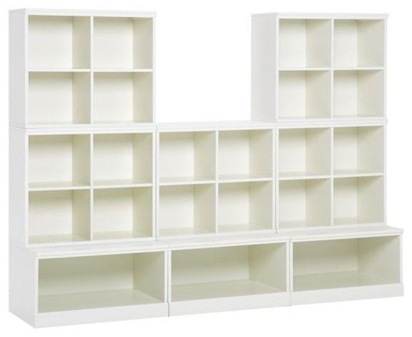Cameron 5 Cubby And 3 Open Base Set   Modern   Toy Storage     By