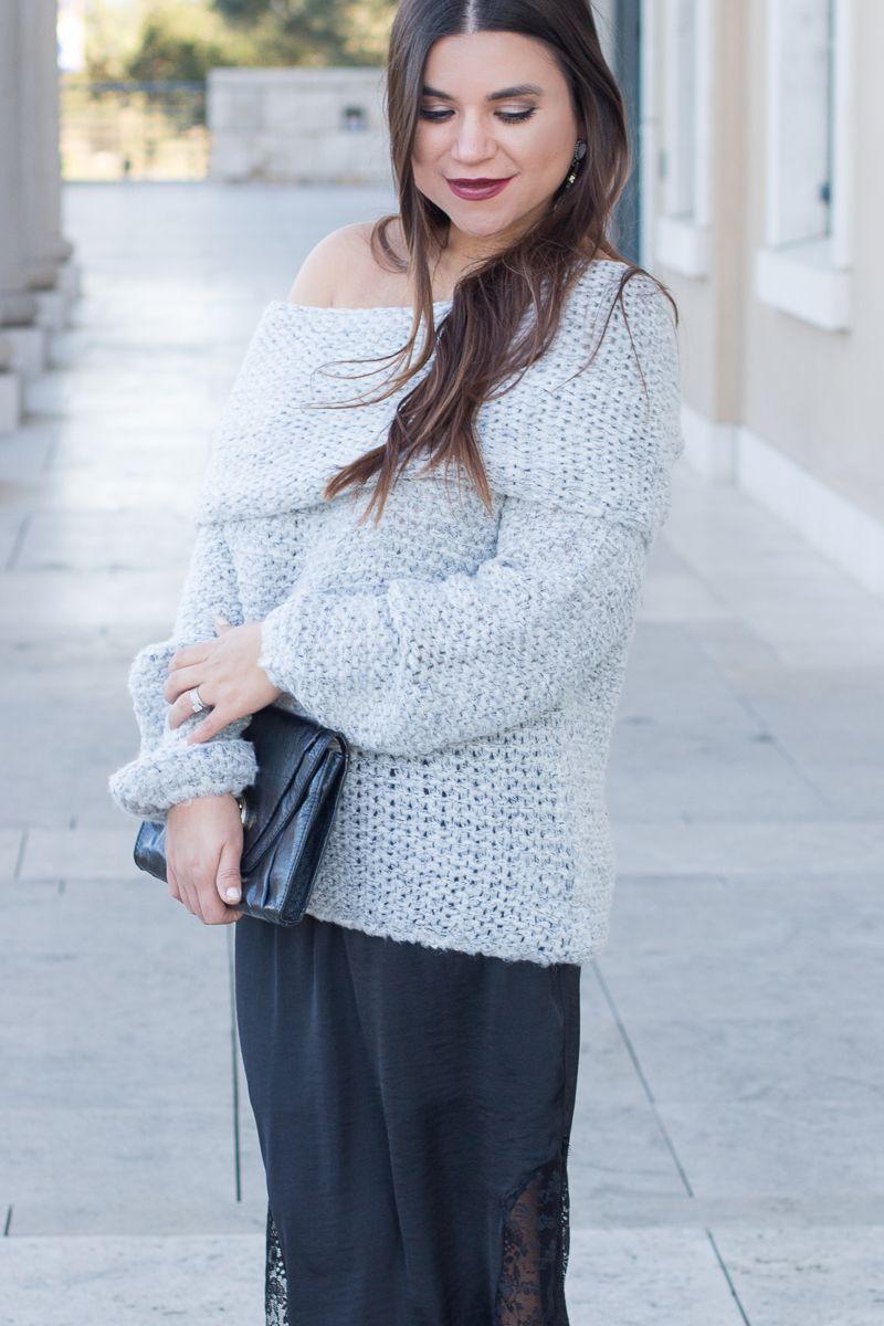 Gray Mood Fashion, Sweater fashion, Style inspiration