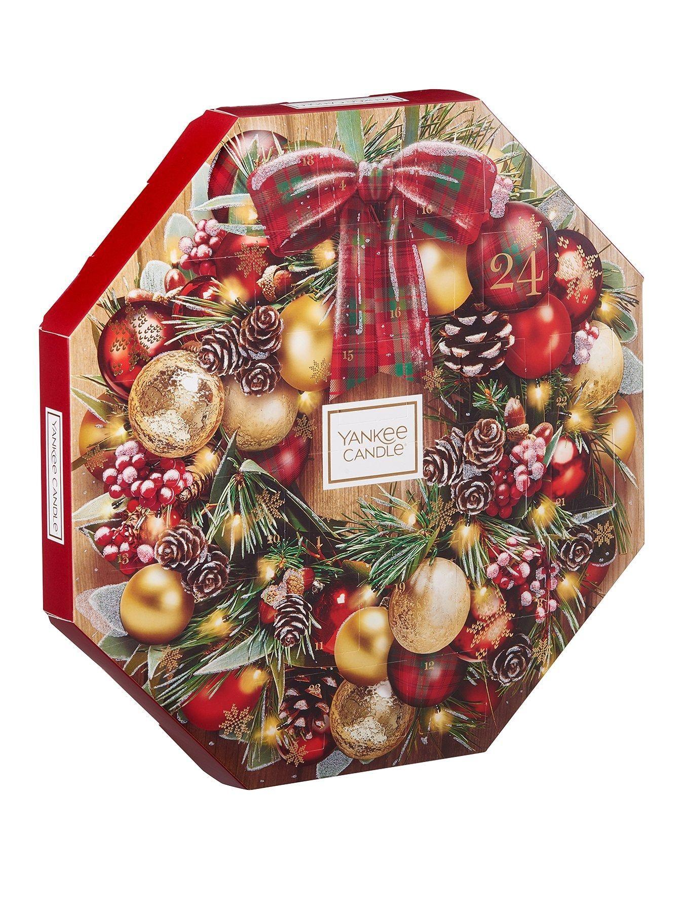 Christmas Wreath Advent Calendar Yankee Candle Christmas